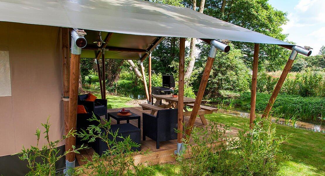 safari tent luxe kamperen