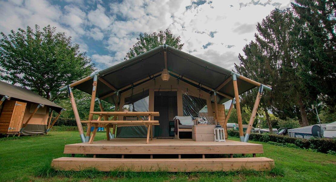 complete safaritent luxe kamperen