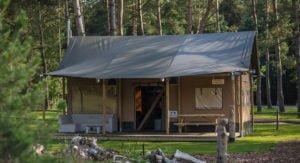 bungalowtent kopen met sanitair
