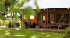 luxe glamping tent groot