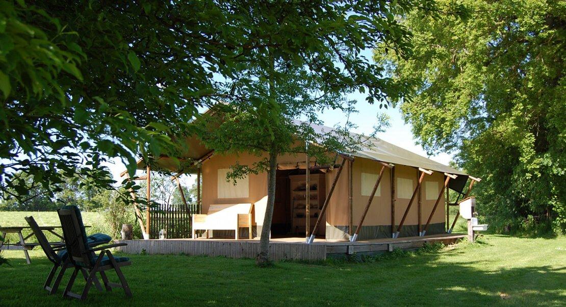 safaritent luxe kamperen glamping