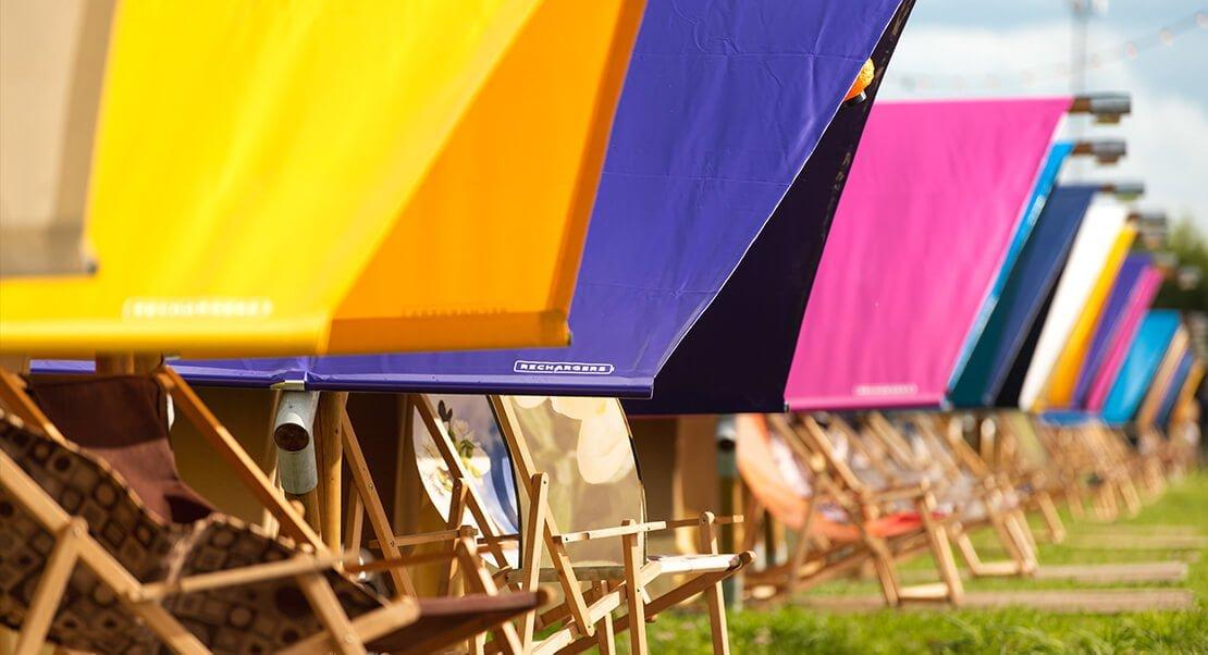 luxe tenten festivals