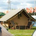 glamping tenten festival