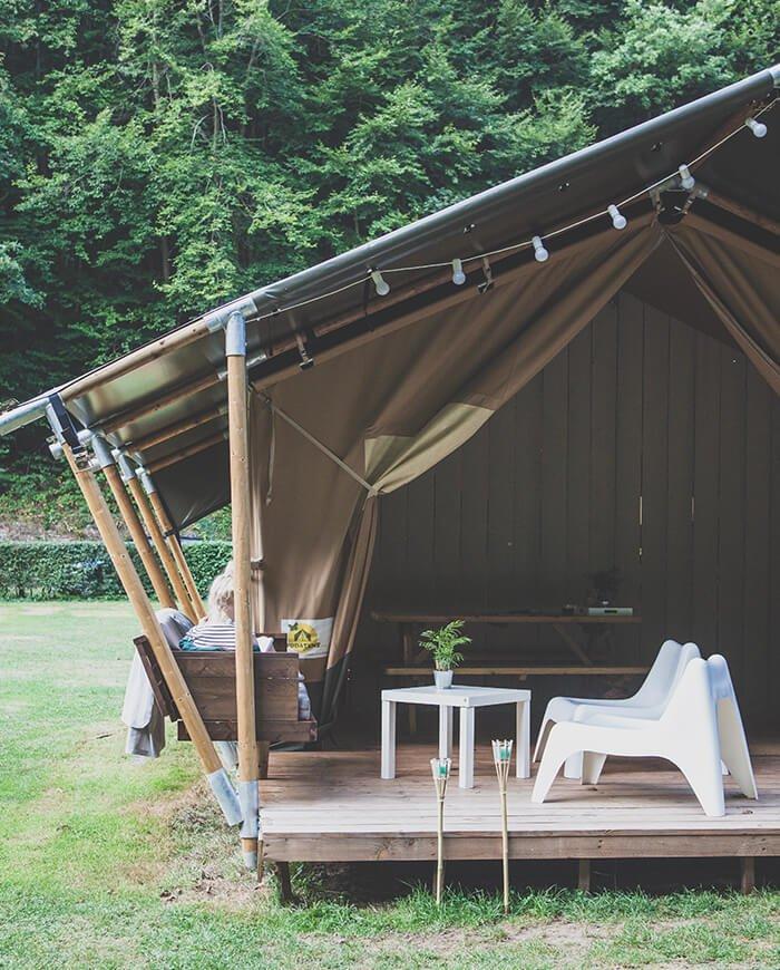 glamping tenten luxe kamperen