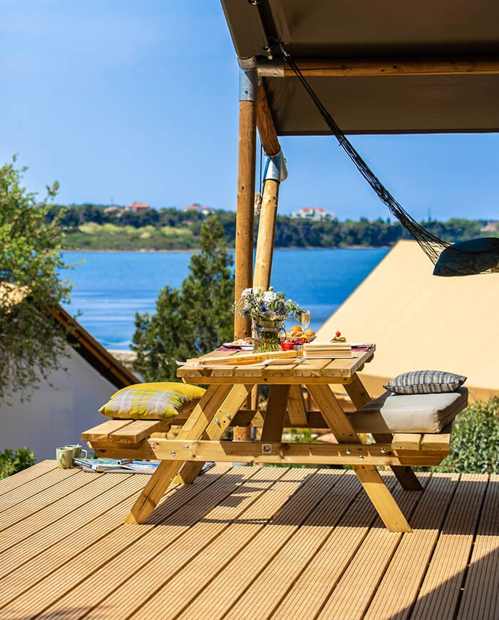 Luxe safaritent glamping