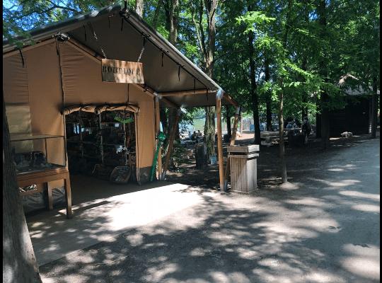 safaritent kopen als souvenirshop