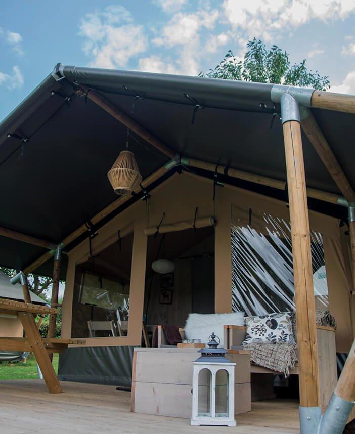 Safaritenten en glamping lodges van Outstanding Tent