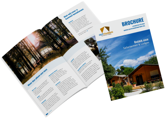glamping brochure safaritenten
