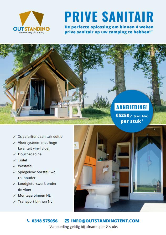 Sanitair Tent