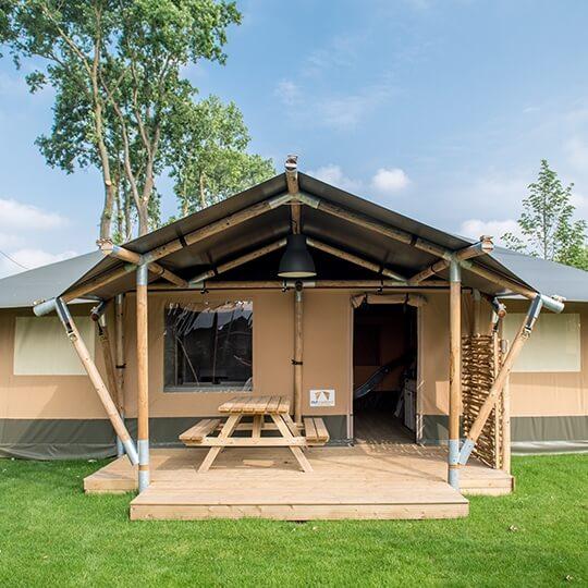 unieke glamping lodge